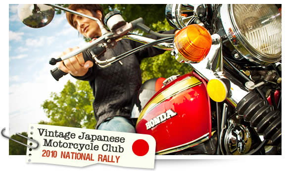 Vintage Japanese Motorcycle Club National Rally