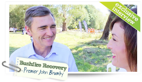 Premier John Brumby speaks exclusively to dotheyarravalley.com.au