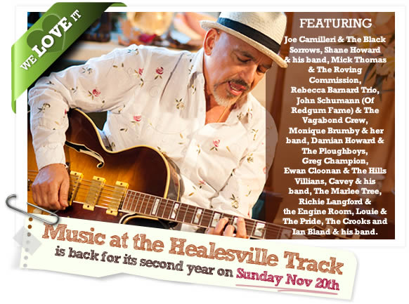 Music on the Track Nov 20 2011