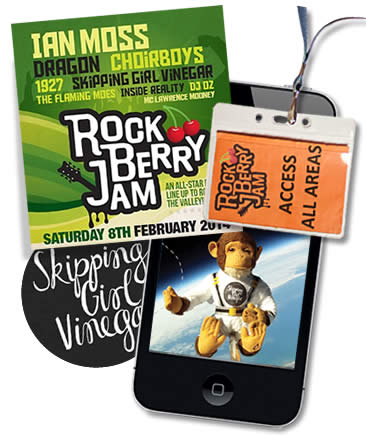 Rock Berry Jam